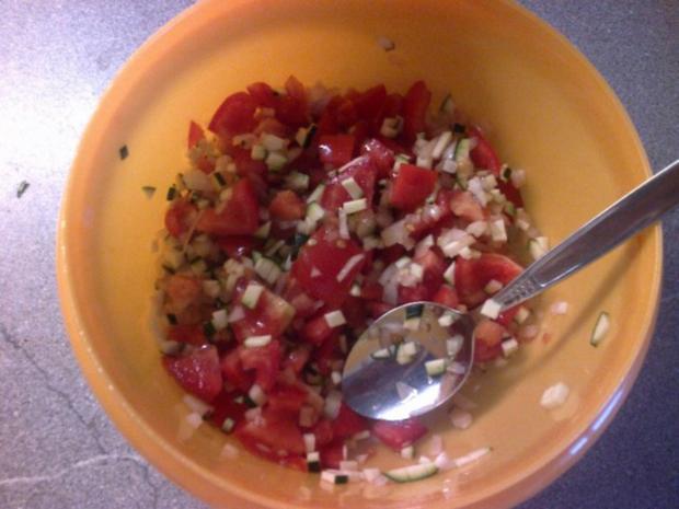 Tomatensalat mit Zucchini - Rezept - Bild Nr. 4