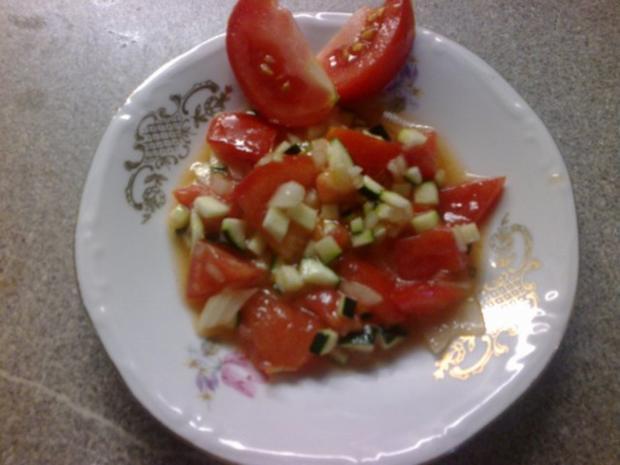 Tomatensalat mit Zucchini - Rezept - Bild Nr. 5