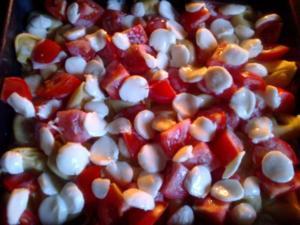 Tortellini-Auflauf mit Tomaten - Rezept