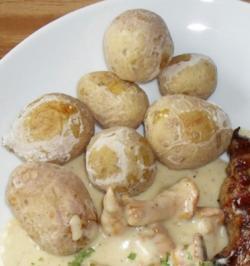 Kartoffeln in Salzkruste - Rezept