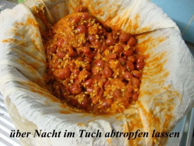 Hagebutten-Orangengelee mit Tonkabohne und Ingwer gepimmt - Rezept - Bild Nr. 6