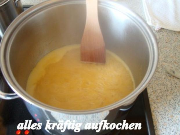 Hagebutten-Orangengelee mit Tonkabohne und Ingwer gepimmt - Rezept - Bild Nr. 8