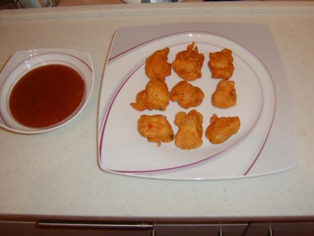 Chicken Nuggets mit süßsauren Dip - Rezept - Bild Nr. 2