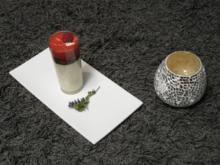 Joghurt-Thymian-Panna Cotta mit Himbeer-Espuma und Kräuter Honig-Sorbet - Rezept