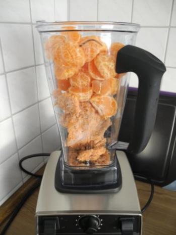 Smoothie : Eiskalter Karotten - Mandarinen Smoothie - Rezept - Bild Nr. 2