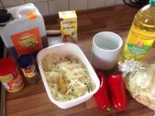Spitzkohlsalat  schnell und einfach - Rezept
