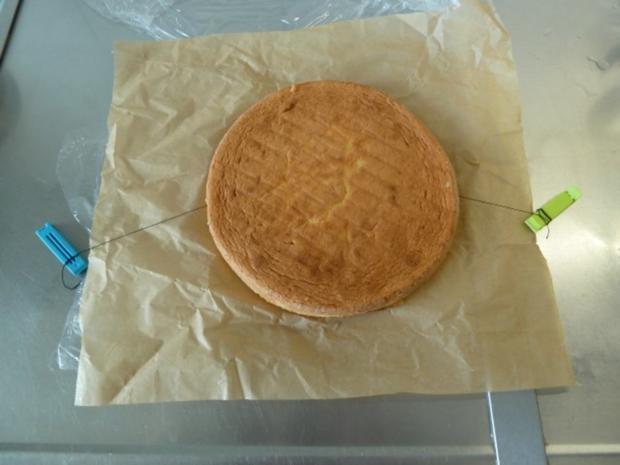 Himbeer-Schicht-Torte mit Schokoraspeln - Rezept - Bild Nr. 2