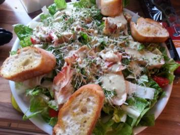 Ceasar-Salat - Rezept