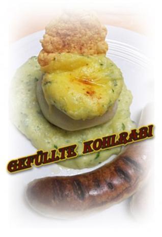Sisserl's ~ gefüllte Kohlrabi - Rezept