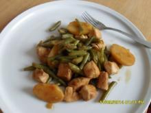 Bohnentopf mit Hähnchenbrustfilet - Rezept