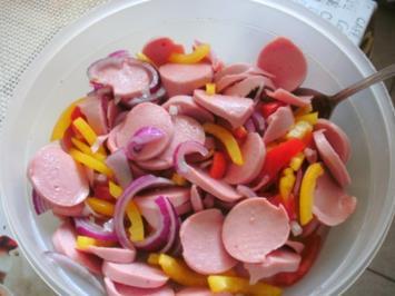 Wurstsalat (wie wir ihn mögen!) - Rezept