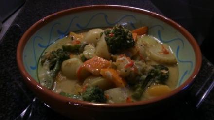 Gemüse-Linsen-Curry - Rezept