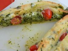 Stromboli mit Spinat - Rezept