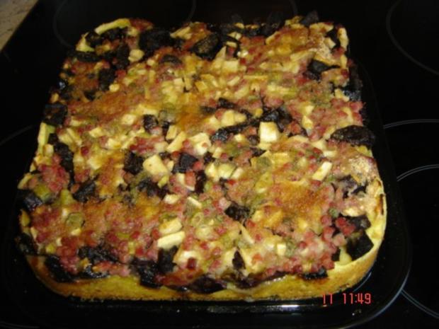 Himmel-und-Erde-Kuchen - Rezept