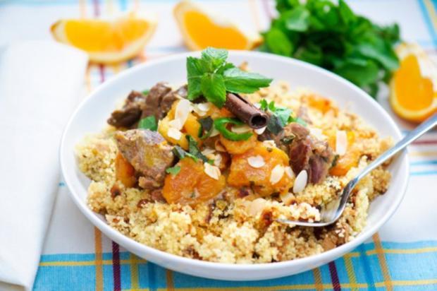 Lamm  mit Couscous - Rezept
