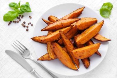 Süßkartoffel  mit Multivitaminsaft - Rezept