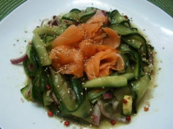 Rezept: Gurkensalat mit dem asiatischen Pfiff