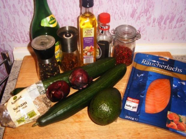 Gurkensalat mit dem asiatischen Pfiff - Rezept - Bild Nr. 2