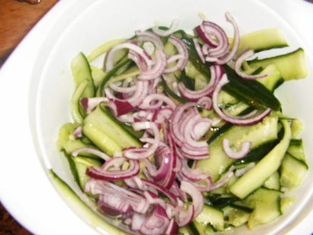 Gurkensalat mit dem asiatischen Pfiff - Rezept - Bild Nr. 5