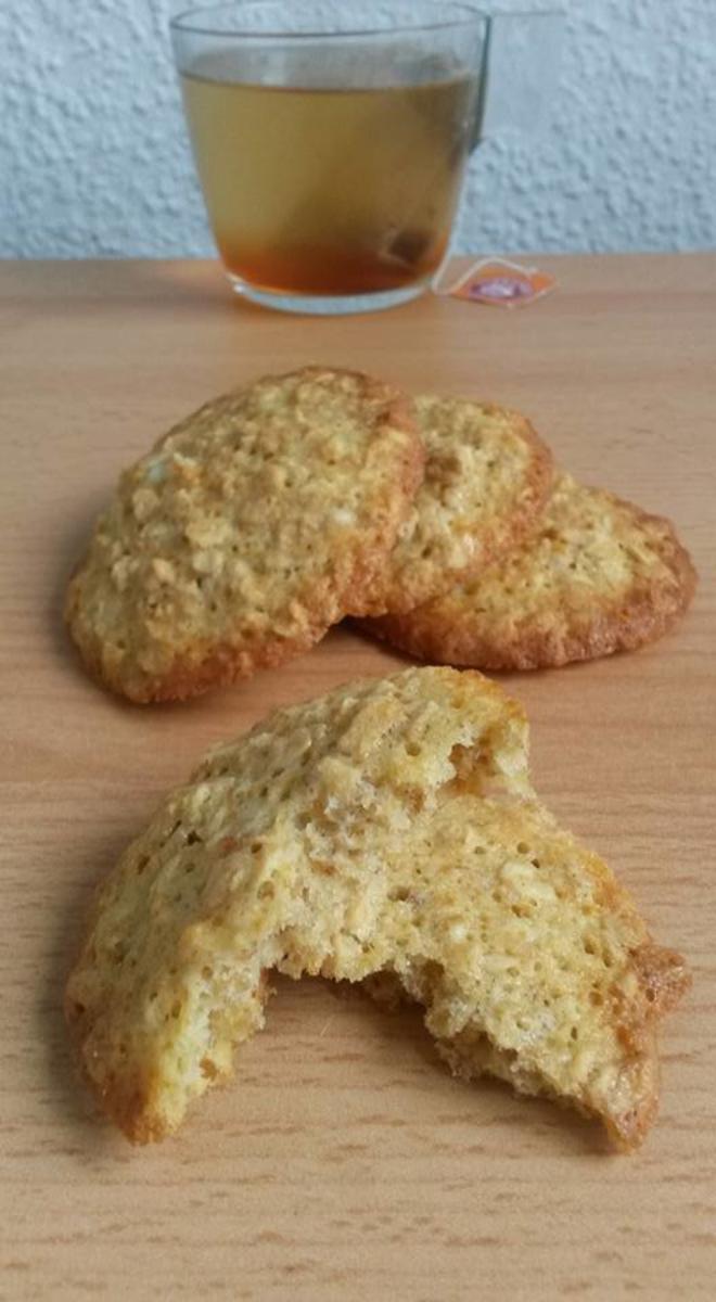 Bilder für Haferflocken Kekse - Rezept