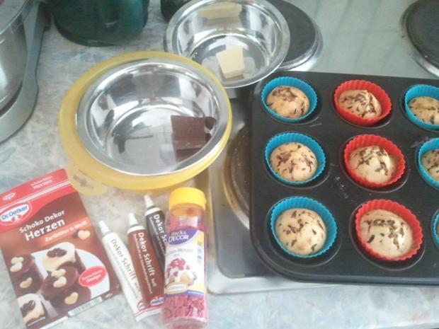 leichte Muffins mit verschiedenen Früchten  - Rezept - Bild Nr. 385