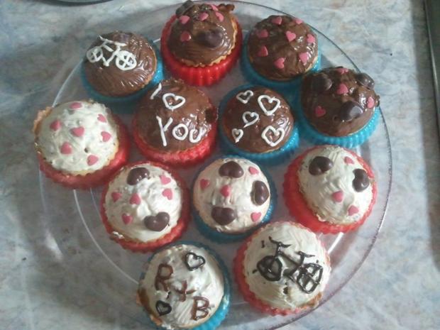 leichte Muffins mit verschiedenen Früchten  - Rezept - Bild Nr. 386