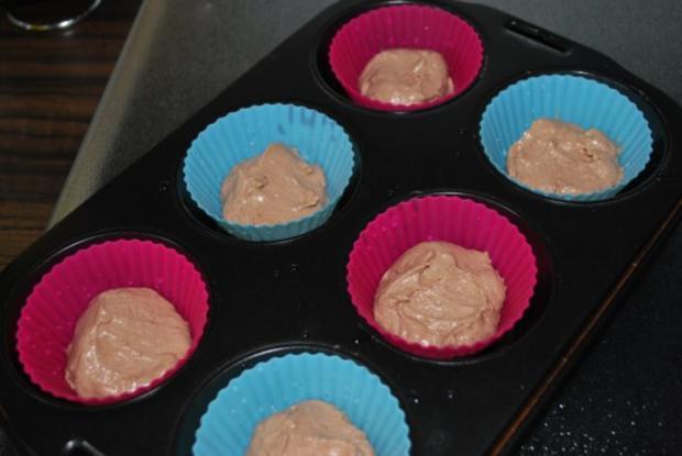 Marmor-Käsekuchen-Muffins - Rezept - Bild Nr. 2