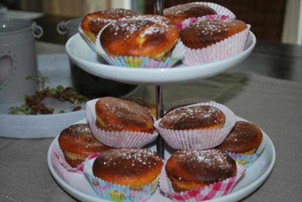 Marmor-Käsekuchen-Muffins - Rezept - Bild Nr. 7