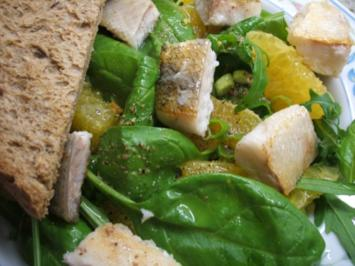 Salate: Orangen-Zander-Salat - Rezept