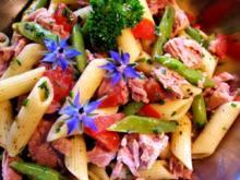 Nudelsalat mit Thunfisch - Rezept