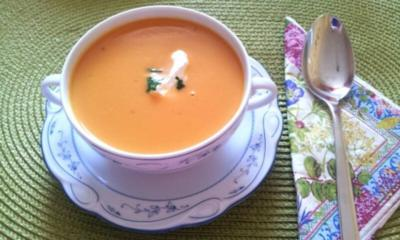Rezept: Süßkartoffel-Cremesuppe