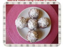 Muffins: Kokos-Honig-Cranberry-Muffins - Rezept