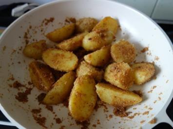 "Bratkartoffel ""paniert"" - Rezept"