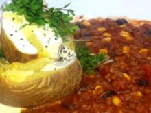 Ofenkartoffel mit Chili - Rezept