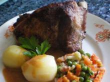 Fleisch: dicke Rippchen geschmort - Rezept