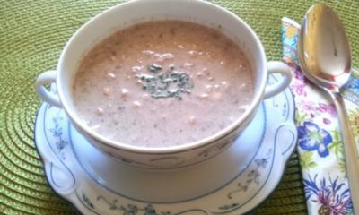Champignon-Creme-Suppe - Rezept