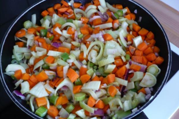 Lachs auf Möhren - Fenchel - Orangen -Gemüse - Rezept - Bild Nr. 6
