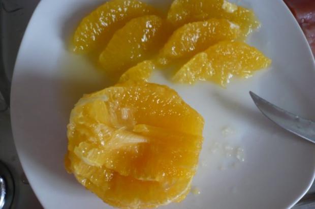 Lachs auf Möhren - Fenchel - Orangen -Gemüse - Rezept - Bild Nr. 7
