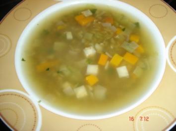 Ganze Grünkernsuppe - Rezept