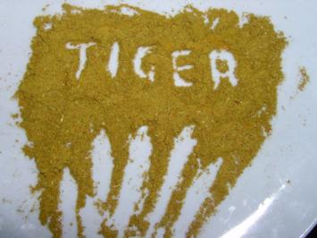 Tiger Currypulver / Pfeffer Curry Gewürzmischung - Rezept