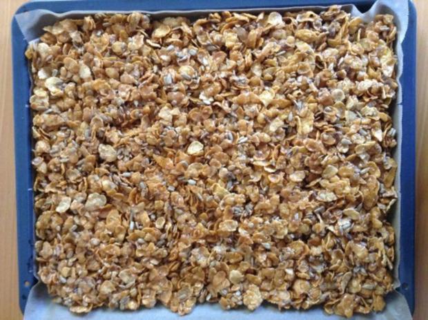 Cornflakes-Karamell Knusperli - Rezept