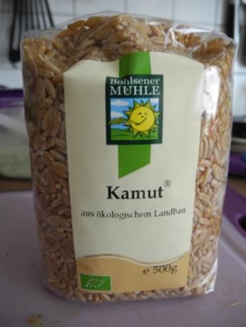 Schmorgurken an Kokosmilch mit Zuckerschoten dazu Kamut und Mandel - Tofu - Rezept - Bild Nr. 13