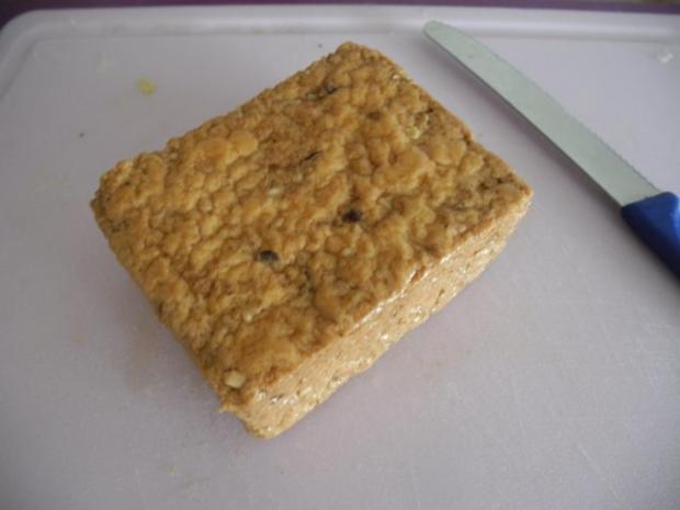 Schmorgurken an Kokosmilch mit Zuckerschoten dazu Kamut und Mandel - Tofu - Rezept - Bild Nr. 17