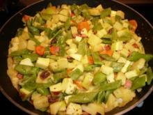 Grüne Bohnen - Curry - Rezept