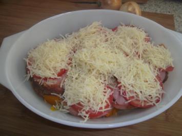 Blumenkohl-Kürbis-Tomaten-Käse-Fleischkäse-Quintett - Rezept