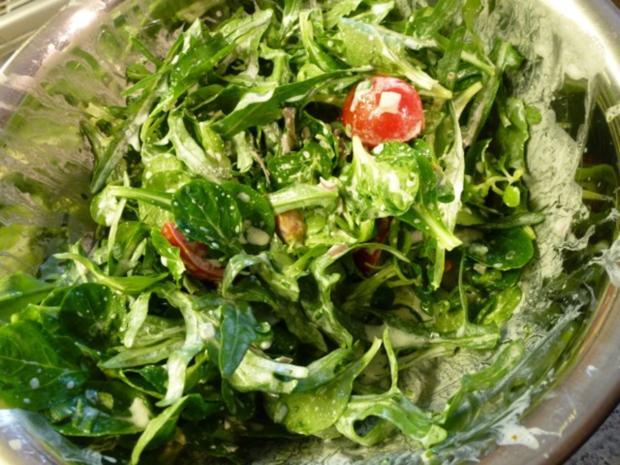 Frischer Salat-Mix aus dem Garten - Rezept - Bild Nr. 5