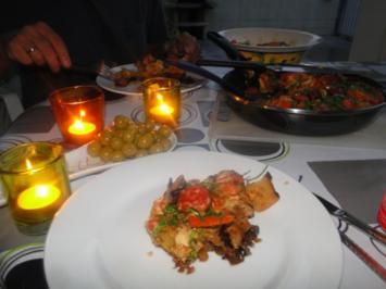 Tortilla Espanola con Chorizo    /Spanisches Omelet/ - Rezept