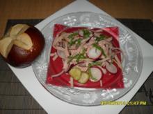 Leberkäs'-Salat - Rezept