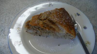Cappuccino - Birnen - Kuchen - Rezept