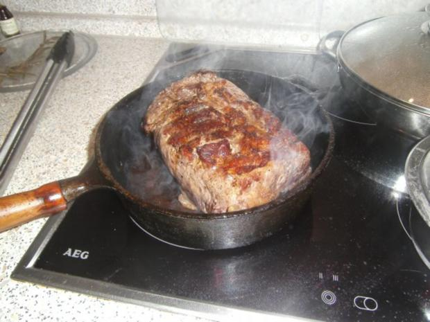 Roastbeef sanftgegart (rückwärts) - Rezept - Bild Nr. 11
